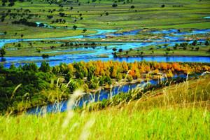 呼伦贝尔大草原-根河湿地-室韦-满洲里5日游
