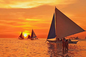 菲律宾长滩岛 海岛半自由行7天