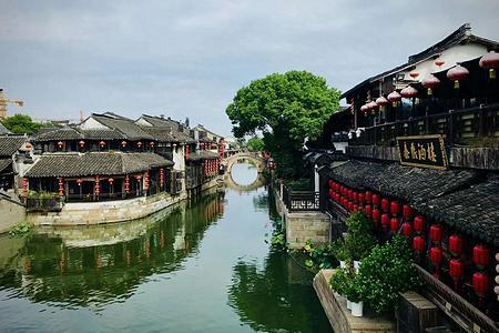江南漫步-華東五市上海南京無錫蘇州杭州雙飛6日游宋城主題公園