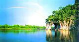 桂林、漓江、阳朔、银子岩、蝴蝶泉、双飞五日