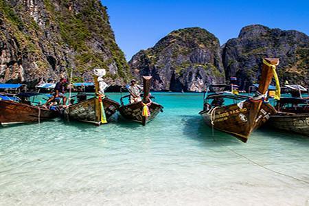 双飞游,泰国普吉岛,骑大象,水上乐园,人妖歌舞表演7日6晚游