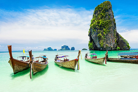 曼谷、普吉岛、帝王岛、珊瑚岛、6晚7天跟团游
