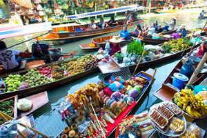 【6-8月泰享趣】泰国曼芭+安帕瓦水上市场六日游