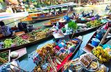 【9月含国庆泰享趣】泰国曼芭+安帕瓦水上市场六日游