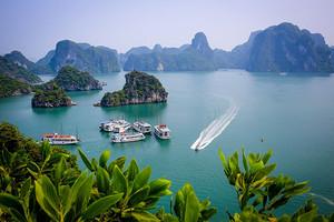 南宁到越南下龙、吉婆岛四天海上世外桃源浪漫之旅