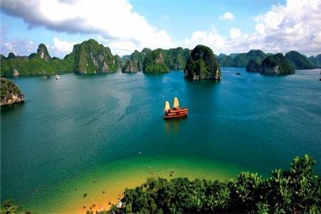 南宁到越南+下龙湾+天堂岛+电瓶车,河内品质四日游