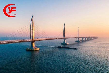 香港 澳门 迪士尼 海洋公园 夜游维多利亚港 港珠澳大桥5天