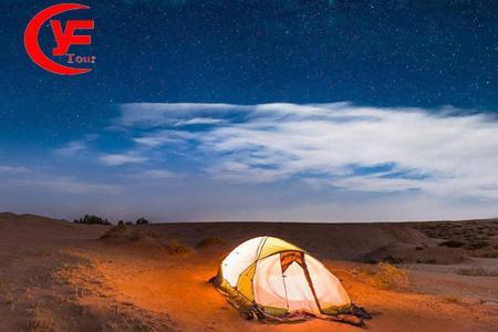 腾格里沙漠星空露营两日游