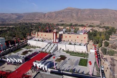红色记忆 甘肃会宁会师楼,西吉县将台堡红军长征纪念碑汽车2天