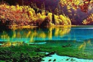 兰州周边旅游-九寨、牟尼沟、松潘古城、郎木寺、花湖、4日游