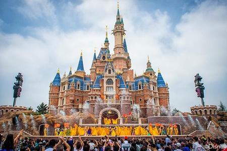 【迪士尼自由行】上海迪士尼1日票2晚3天