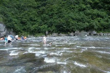 白水洋、鸳鸯溪二日游
