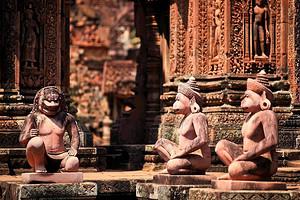 柬埔寨吴哥+金边高标5日游
