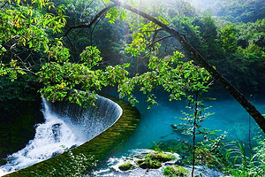 黄果树瀑布、西江千户苗寨、荔波小七孔、黔灵公园双飞五日游