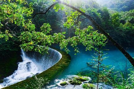 贵州黄果树瀑布、西江千户苗寨、丹寨万达小镇、荔波大小七孔6日