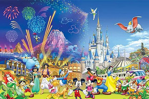 【迪士尼自由行】上海迪士尼奇幻之旅休闲3日游