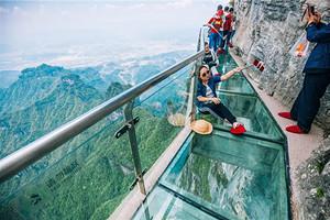 【玻璃童话】张家界玻璃桥天门山凤凰古城六日游