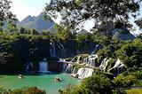 北海到越南、德天大瀑布、通灵大峡谷、巴马长寿乡八日游