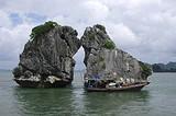 南宁到越南下龙湾、月亮湖、天堂岛、河内3星纯玩四天游