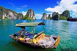 南宁到越南下龙湾、迷宫仙境、天堂岛、月亮湖、河内四日游优质团