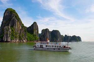 北海到越南下龙湾、迷宫仙境、月亮湖、天堂岛3星纯玩三日游