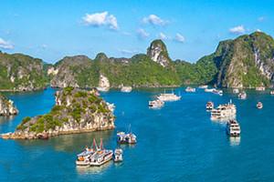 北海到越南下龙湾、迷宫仙境、天堂岛、月亮湖三日游品质团
