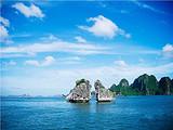 北海到越南下龙湾、天堂岛、月亮湖纯玩三日游住五星酒店送流量卡