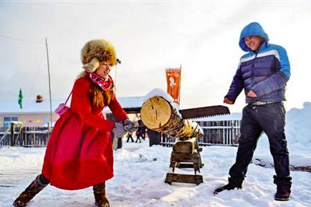 呼伦贝尔的漫天白雪间.冬季休闲5日体验