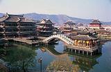 福州前往横店影视城、梦外滩、梦幻谷双动车二日游