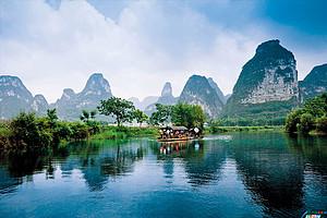 福州到水墨桂林|大漓江|遇→龙河漂流|阳朔西街|冠岩五�日游