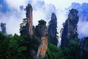 张家界森林公园|天门山|大峡谷玻璃桥|凤凰古城五日游