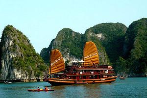 北海去越南下龙湾河内、天堂岛3日游报价   北海到越南旅游线