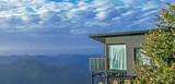 乘五峰滑雪专线车,住五峰国际滑雪场独岭云顶酒店,滑雪不限时