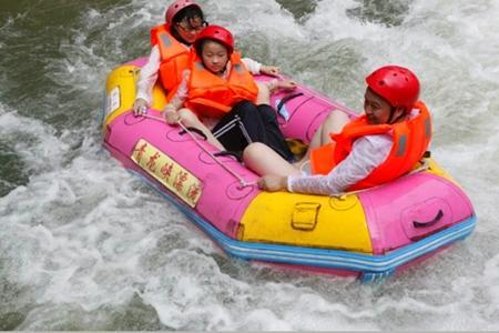 宜昌青龙峡漂流一日游