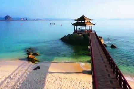 桂林出发 海口 三亚  双飞5日游 纯净海湾
