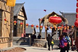 凤翔雍州古镇、周家大院、灵山大佛、东湖一日游