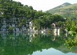 宁陕苍龙峡·五郎关公园·城隍庙·老街一日游