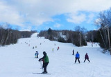 竹林畔滑雪一日