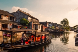 华东六市+船游西湖+双水乡(乌镇 周庄)单飞6日游