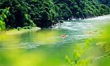 ◆安康岚皋岚河漂流(国家AAA级旅游景区)