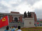 陕甘边照金革命根据地纪念馆1日参观