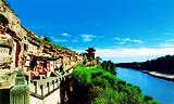 ◆榆林红石峡生态公园(国家AAA级旅游景区)