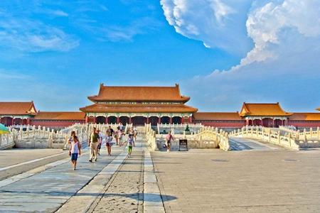 春季特惠 北京天安门广场+故宫+八达岭长城+鸟巢纯玩一日游
