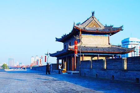 西安一日游 明城墙、大雁塔北、钟鼓楼、回民街 市内游