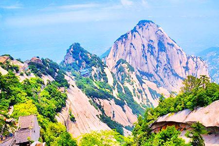 西安一日游 西岳华山 北峰往返索道