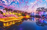 无锡一日游C线_蠡园+三国城+鼋头渚景区