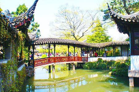 杭州上海苏州无锡四日游-拙政园D线_西湖、苏州园林、灵山大佛