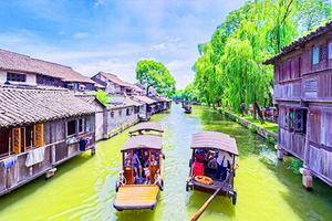 杭州乌镇二日游_西湖游船、花港观鱼、宋城
