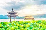 杭州西湖江南风情一日游_西湖游船、花港观鱼、黄龙吐翠
