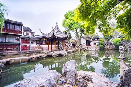 苏州一日游-狮子林线_狮子林+寒山寺+七里山塘